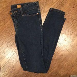 Anthropologie Pilcro skinny jeans in dark wash
